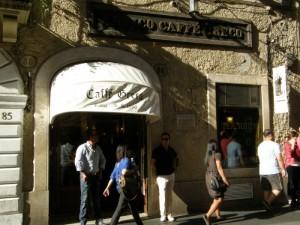 Café Greco ved Den Spanske Trappe