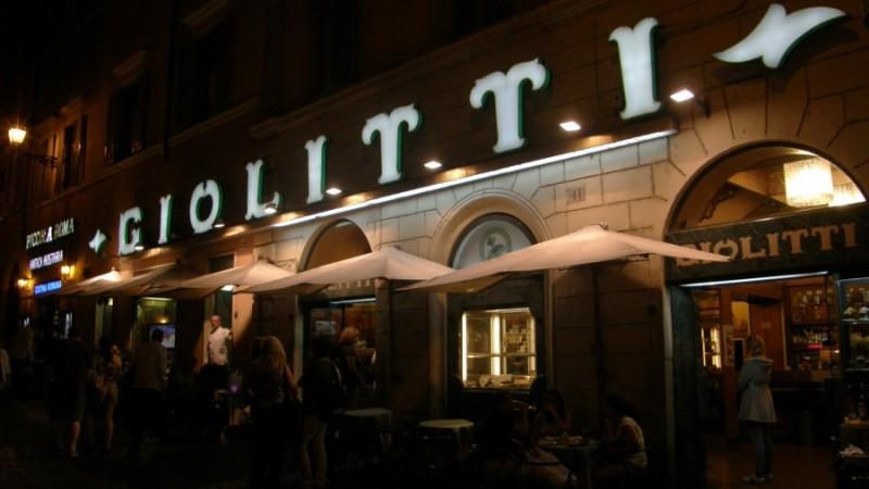 Giolitti isbar i Rom