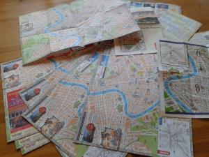 Masser af Rom-kort
