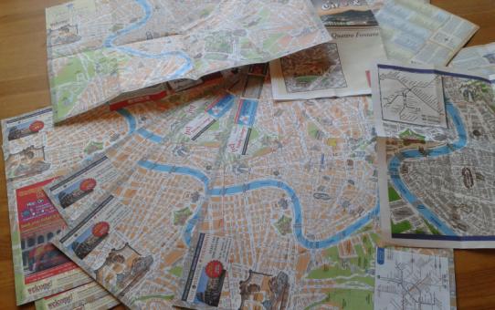 Dagens Rom og masser af kort