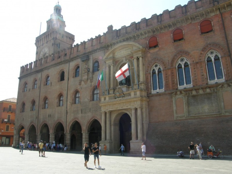 Rådhuset - Palazzo Comunale i Bologna.