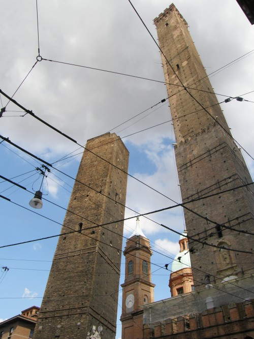 Torre Asinelli og Garisenda
