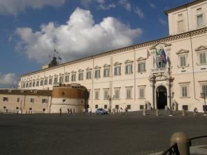 Palazzo Quirinale i Rom - bolig for Italiens præsident Giorgio Napolitano.
