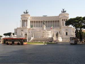 Vittorio Emanuele-monumentet på Piazza Venezia i Rom