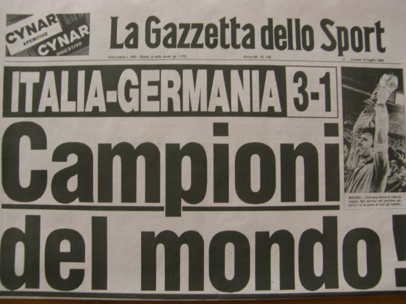 Italien verdensmester 1982