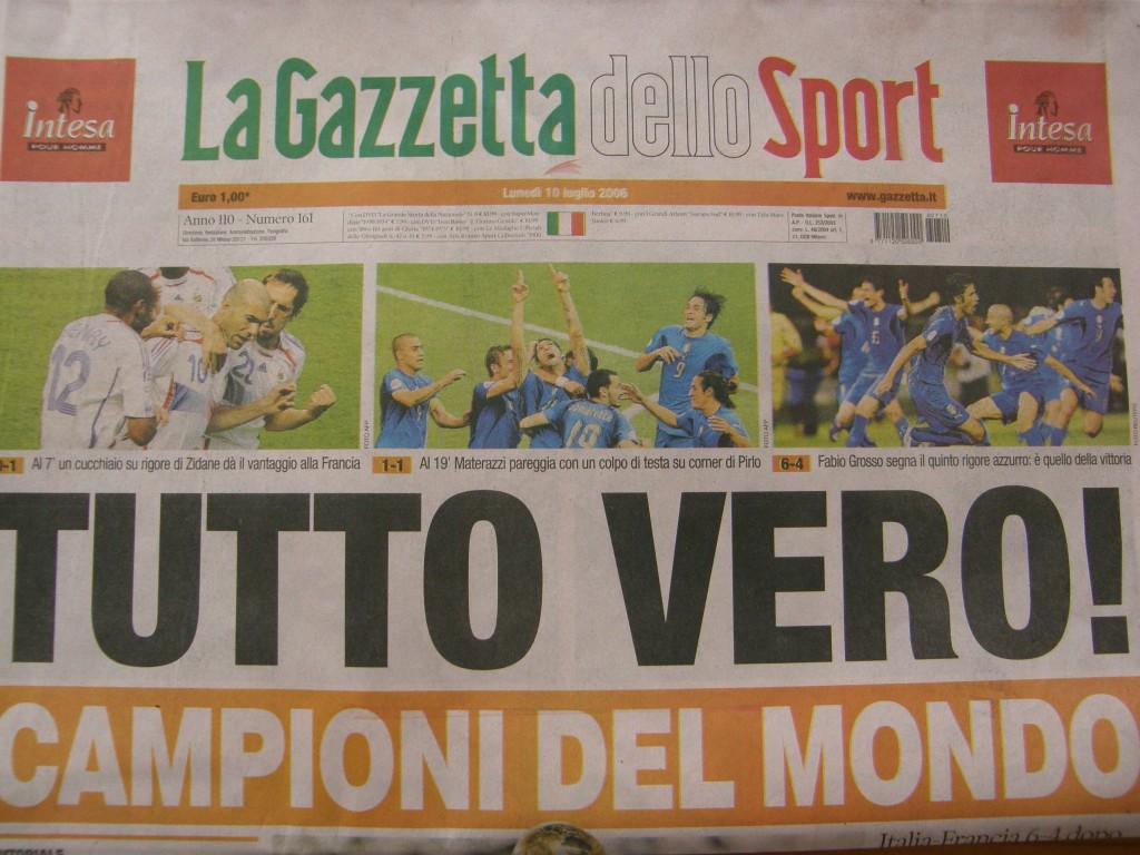 Italien verdensmester 2006