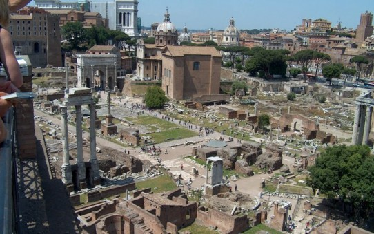Dronning Margrethes besøg i Rom og Tarquinia