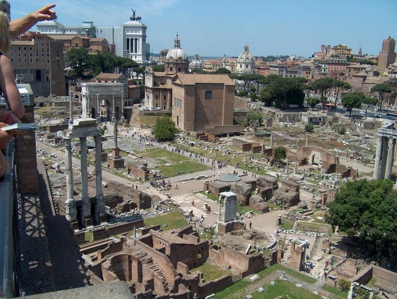 Dronning Margrethe besøger Rom