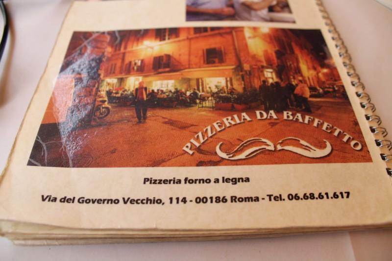 Velkommen hos Pizzeria da Baffetto