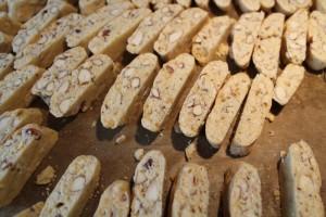 Italienske biscotti - gode til vin eller kaffe