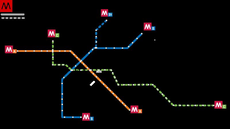 Roms metro linie C er åbnet