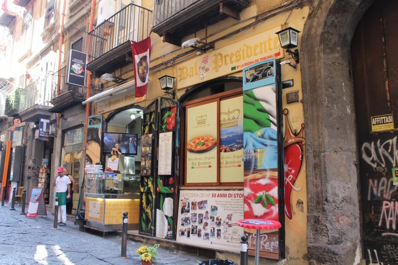 Pizzeria dal Presidente i Napoli