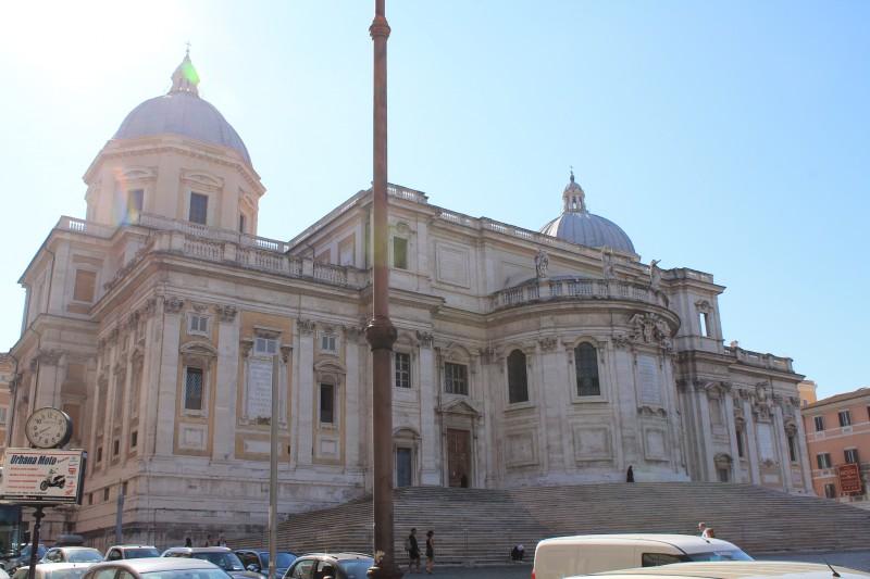 Bagsiden af Santa Maria Maggiore