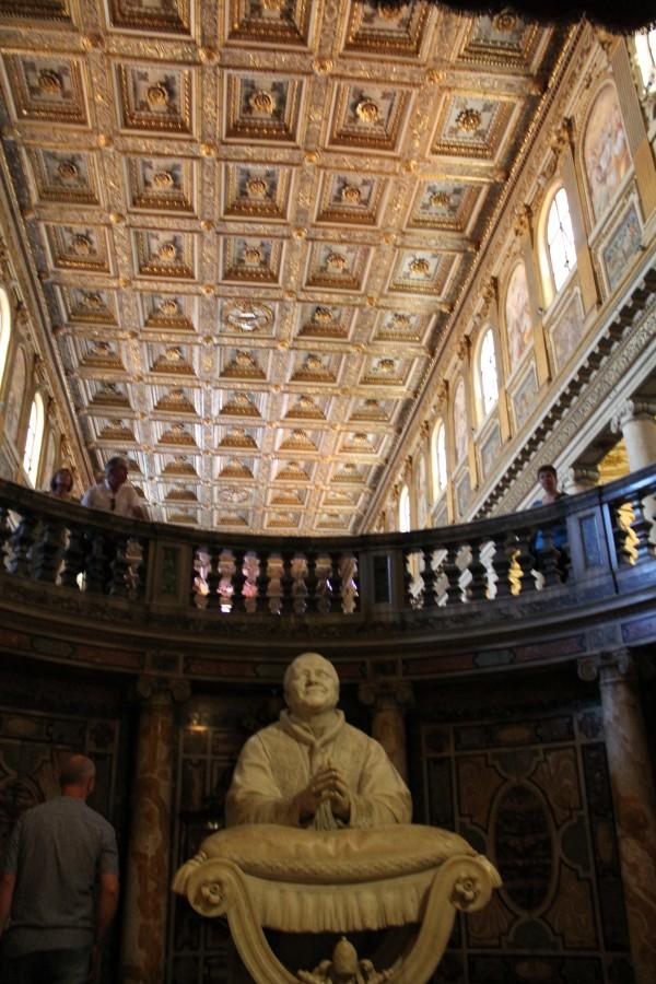 Det flotte loft og Pave Pius