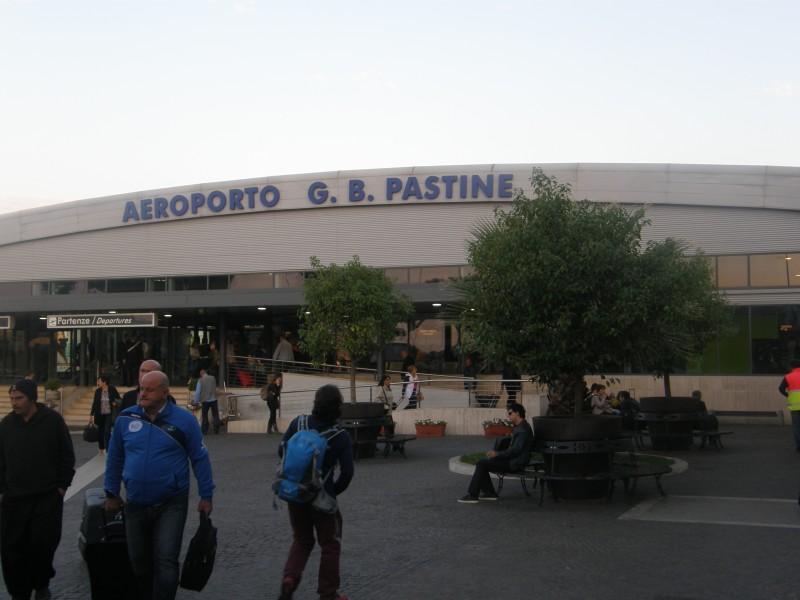 Lufthavnen i Ciampino uden for Rom