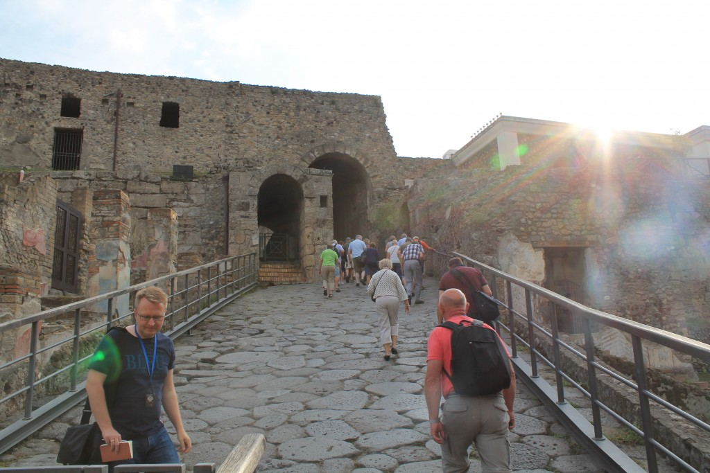 Indgangen til Pompeji - Porta Marina