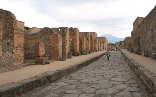 Besøg i Pompeji