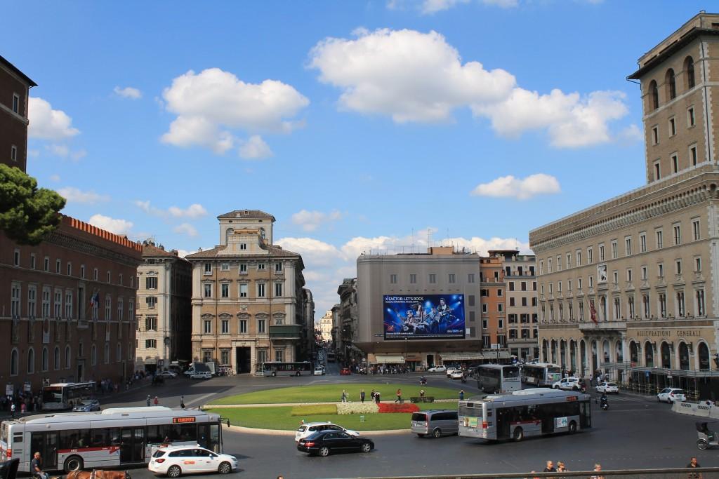 Piazza Venezia - Roms hjerte