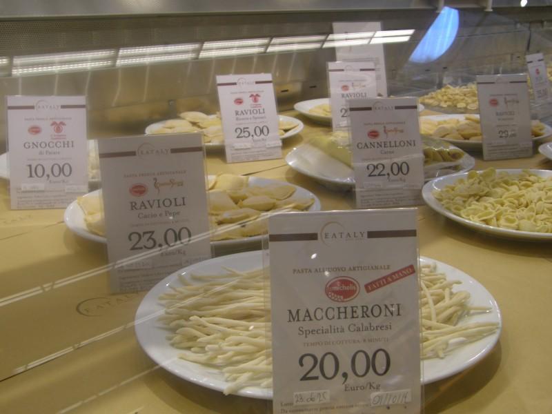 Så kan der vælges pasta
