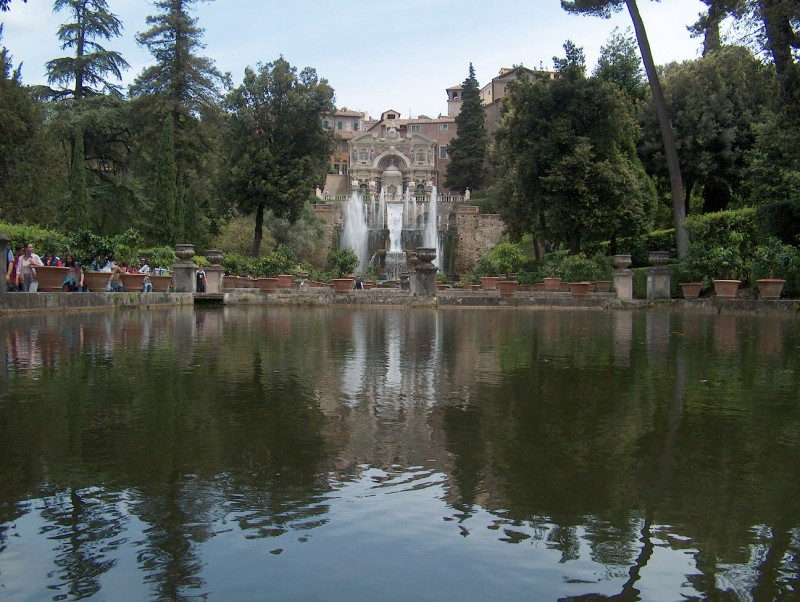 Villa D'Este i Tivoli