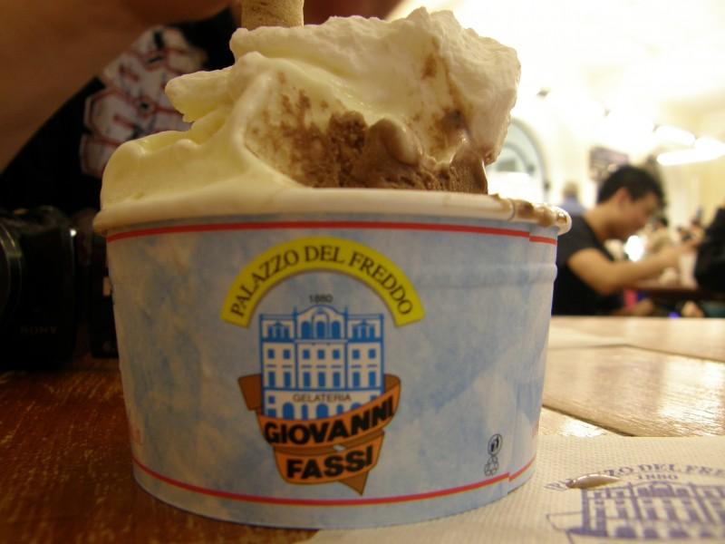 Is med ricotta og jordbær vinder is-festival
