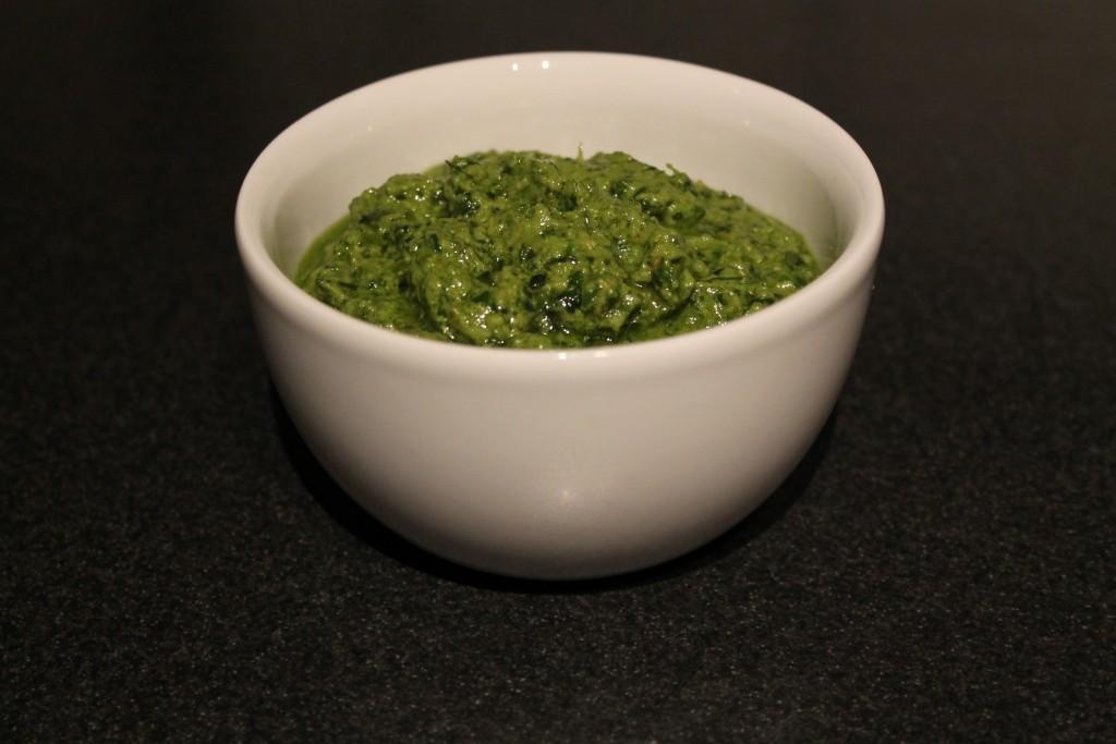 Klassisk Italiensk grøn pesto