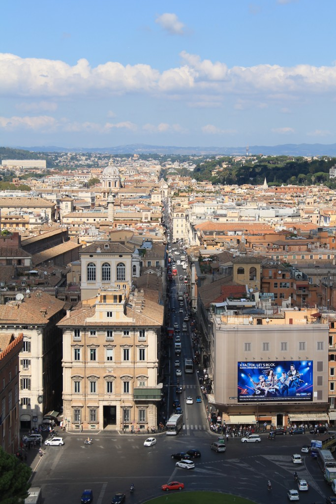 Gode udsigter i Rom
