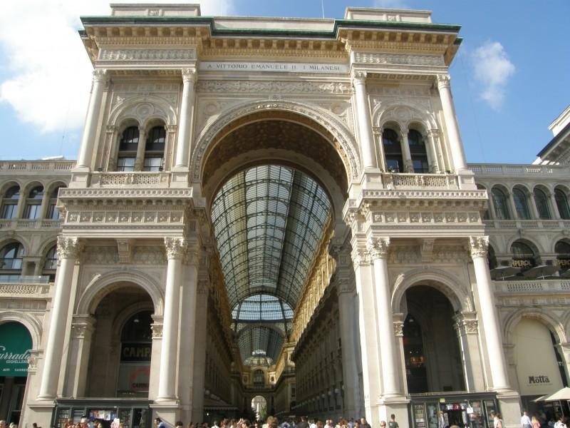 Shopping i Milano Galleria Vittorio Emanuele