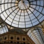 På shopping i Galleria Vittorio Emanuele i Milano