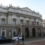Teater i Milano Teatro alla scala