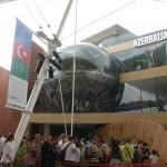 Azerbaijan pavillon på EXPO 2015 i Milano