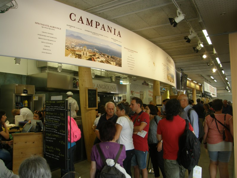 Regionen Campania på EXPO i Milano