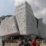 Palazzo Italia Italiens pavillon på EXPO 2015