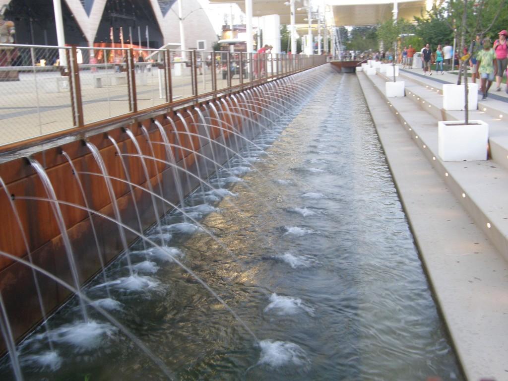 Vand rundt om EXPO 2015