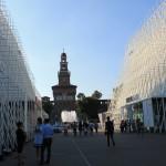 EXPO 2015 ved Sforzesco-borgen