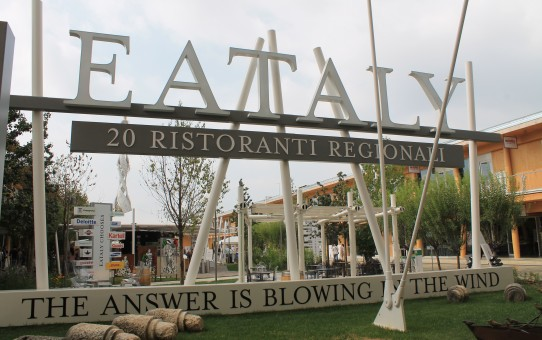 Eataly på EXPO med 20 regionale resturanter