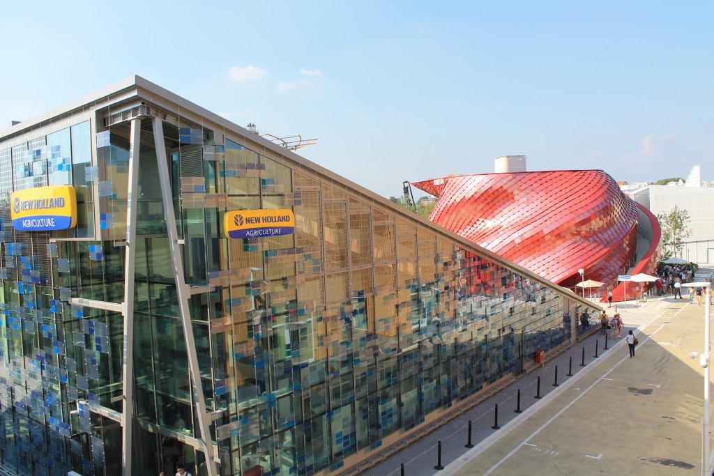 New Holland landbrugsmaskiner på EXPO 2015 i Milano