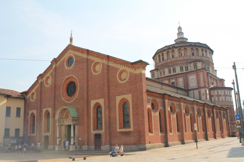Basilica Santa Maria delle Grazie i Milano