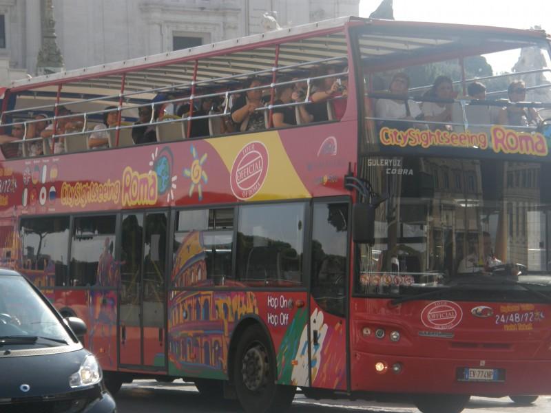 CitySightseeing turistbusser i Rom