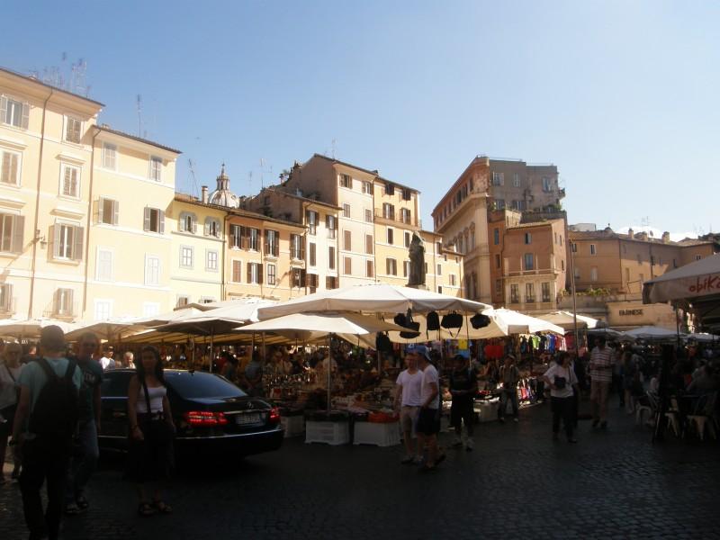 Markeder i Rom