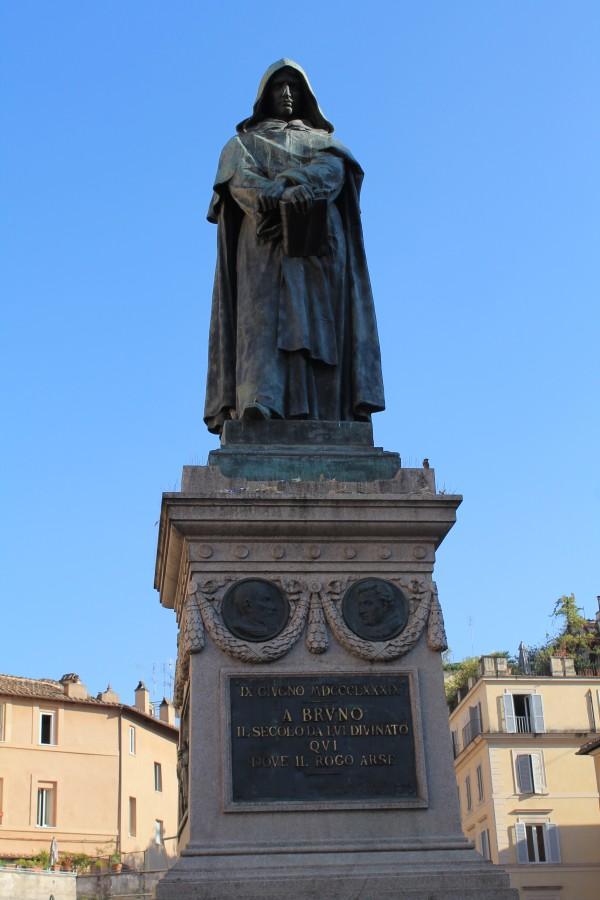 Giordano Bruno på Campo de Fiori i Rom