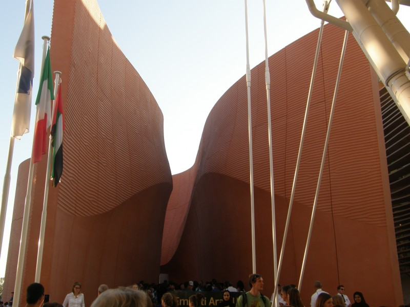 Emiraternes pavillon på EXPO i Milano - Dubai er vært i 2020