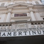 Indgangen til Mamertiner-fængslet i Rom