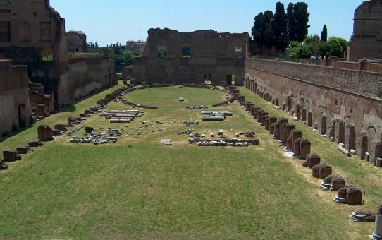 Domitians stadion - Palatinerhøjen i Rom