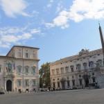 Piazza Quirinale - Quirinalepaladset i Rom