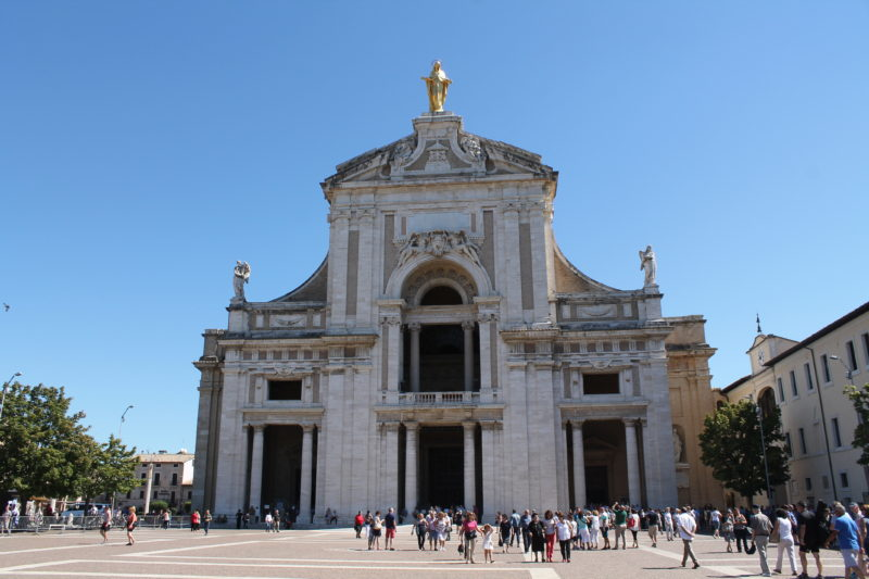 Basilica di Santa Maria degli Angeli - hvor Frans af Assisi døde