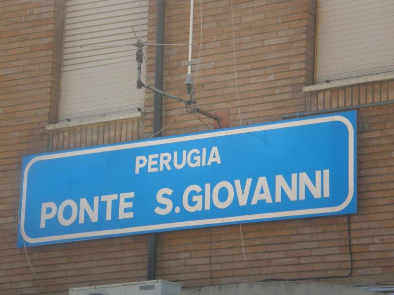 Banegården i Ponte San Giovanni
