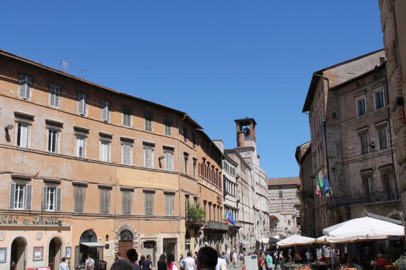 Hovedstrøget Corso Vannucci