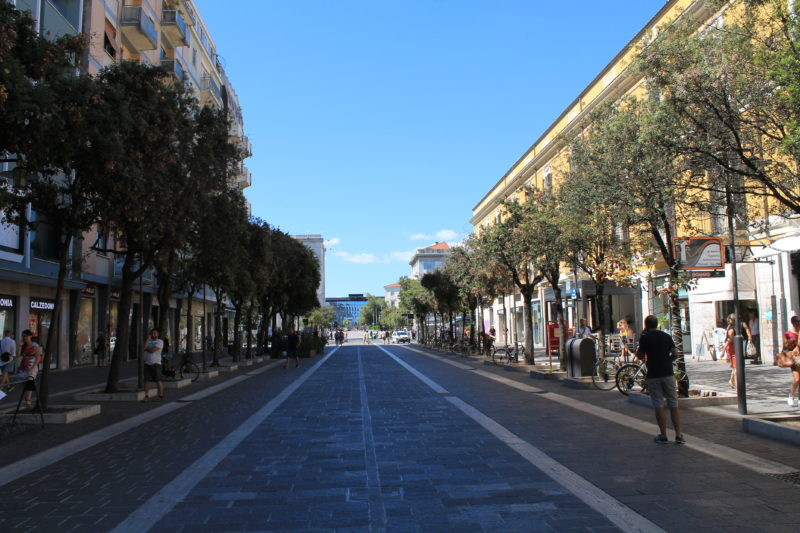 Corso Umberto - hovedstrøget i Pescara