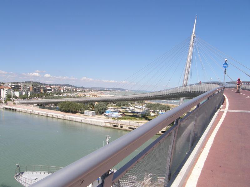 Ponte del Mare med udkig mod lidoen
